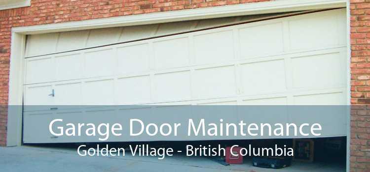 Garage Door Maintenance Golden Village - British Columbia