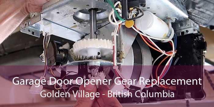 Garage Door Opener Gear Replacement Golden Village - British Columbia