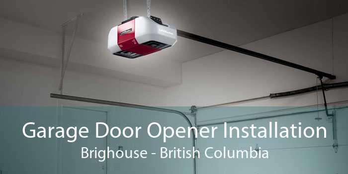 Garage Door Opener Installation Brighouse - British Columbia