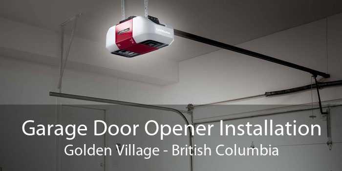 Garage Door Opener Installation Golden Village - British Columbia