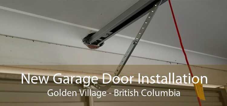 New Garage Door Installation Golden Village - British Columbia
