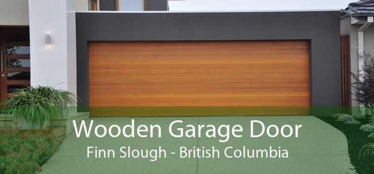 Wooden Garage Door Finn Slough - British Columbia