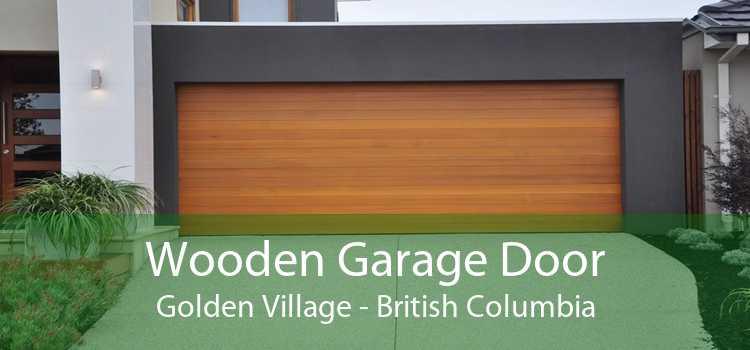 Wooden Garage Door Golden Village - British Columbia