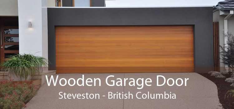 Wooden Garage Door Steveston - British Columbia